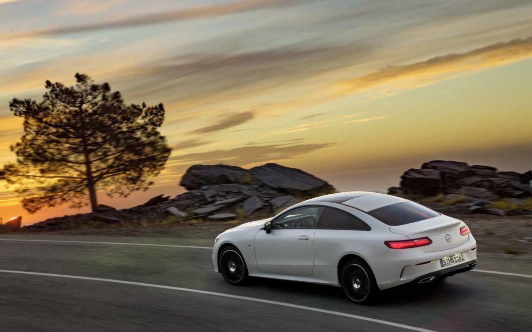 Mercedes Classe E : un nouveau coupé à la ligne envoûtante