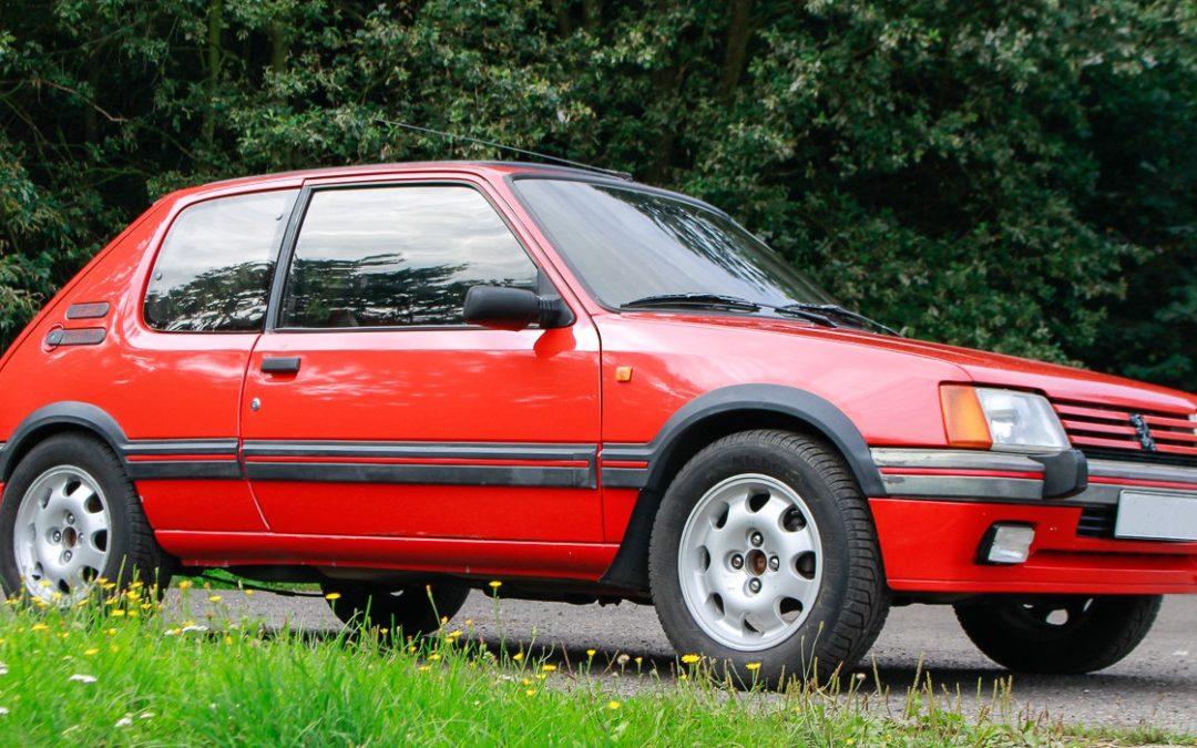 205 GTI : la reine des petites sportives des années 80