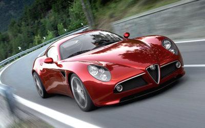 Alfa Romeo 8C Competizione : Œuvre d'art