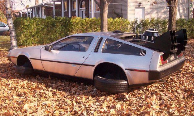 La DeLorean, véritable machine à voyager dans le temps !