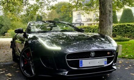 Jaguar F-Type, félin indomptable avec sa motorisation V8S