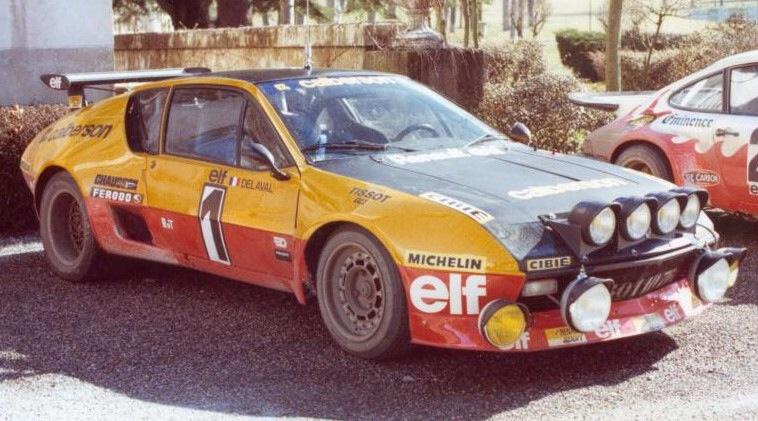 alpine a310 1977 groupe b
