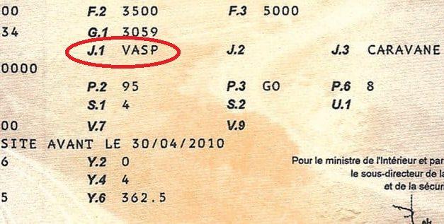 Carte grise VASP pour les vans aménagés : nos conseils