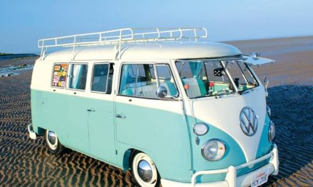 Combi VW, symbole de la tendance vintage
