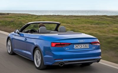 Audi A5 cabriolet : le coupé enlève le haut !