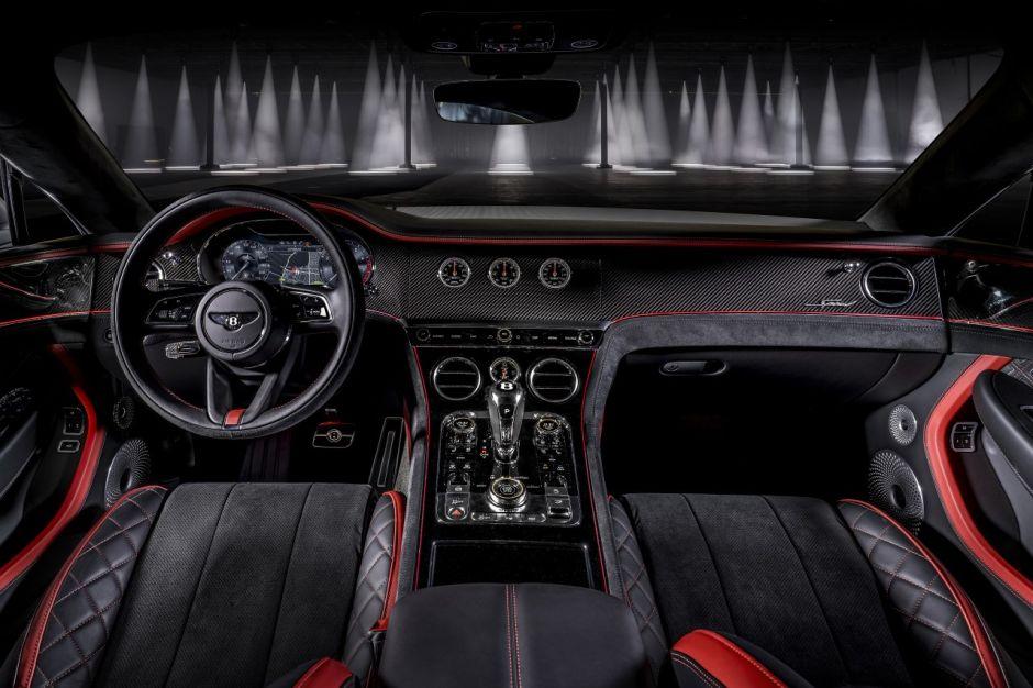 Intérieur Bentley Continental GT Speed